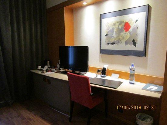 โรงแรมคาทาโลเนียบาร์เซโลนาพลาซา: Room detail