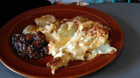 Eastbourne, New Zealand: Spanish omelette