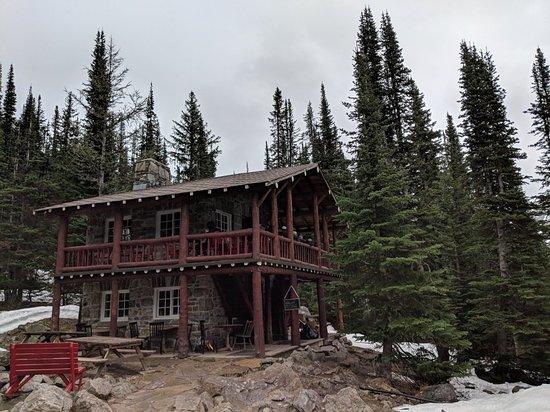 Plain of Six Glaciers Tea House Photo