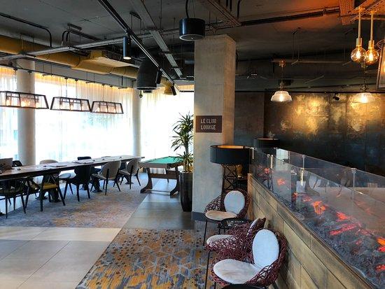 Novotel London Canary Wharf: Executive Lounge
