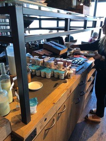 Novotel London Canary Wharf : Breakfast Buffet
