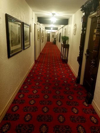 The Cheshire: A hallways full of art and furnishings!