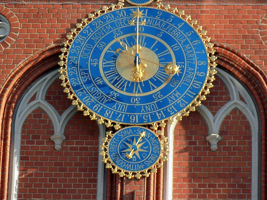 Rixwell Hotel Konventa Sēta: Часы на Доме Черноголовых