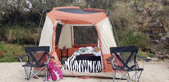 Camping Beds For Tents >> Warm Large Comfortable Tents And Beds Picture Of View Peru