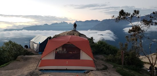 "View Latin America: Camping at Phuyupatama (3rd night), ""The place in the clouds"""