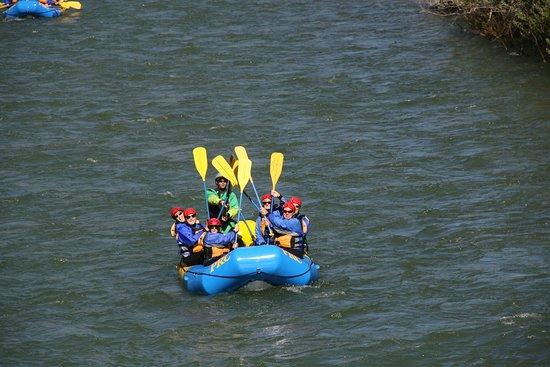 Lowman, Idaho: High 5 - Rafting Style