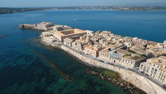 Residence dei Baroni: Aerial VIew of Syracuse