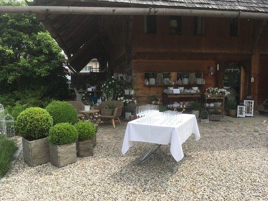 Romantik Hotel Baren: Gartenbereich