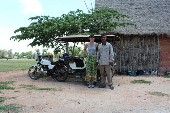 Angkor Taxi Hen: Hen is a wonderful and honest tuk-tuk driver
