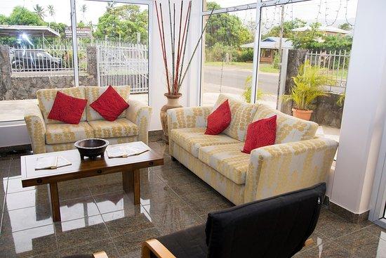 Samoana Boutique Hotel: Lobby