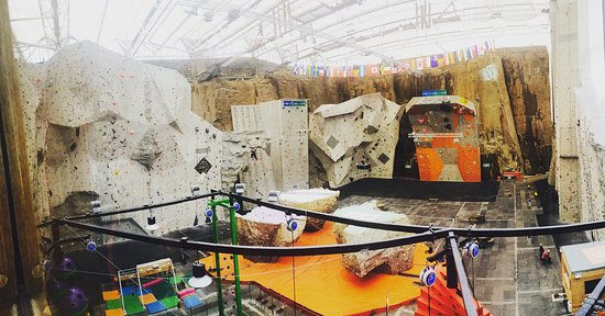 Edinburgh International Climbing Arena: Beautiful climbing arena