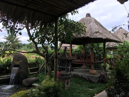 Warung de Koi: Great location