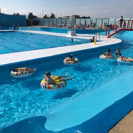 The strand outdoor pool picture of the strand leisure - The strand swimming pool gillingham ...