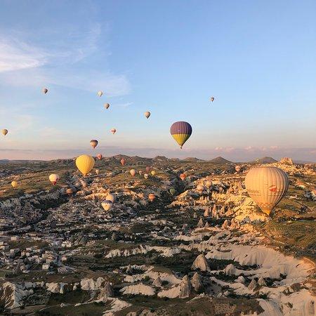 Turkiye Flight with Buffet Breakfast at Cappadocia ภาพถ่าย
