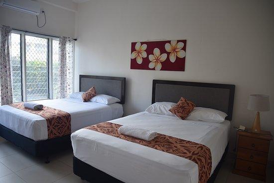 Samoana Boutique Hotel: Bedroom on the ground floor - Family Unit
