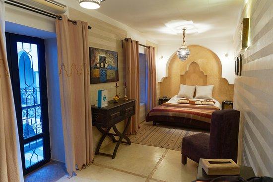 Riad Dar El Masa: La chambre Sahara