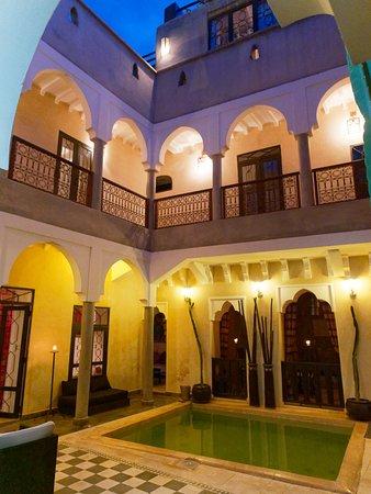 Riad Dar El Masa: Le patio