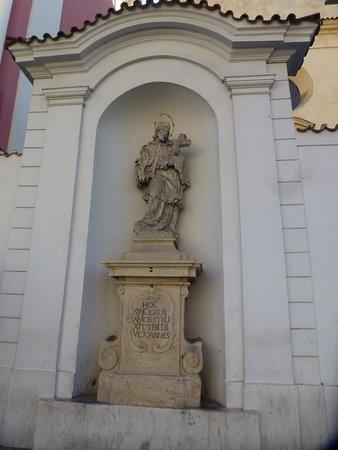 Kostel Svateho Josefa: Святой Ян Непомуцкий