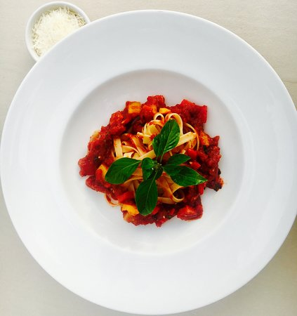 The Palm Cuisine: Fettucine Arrabiatta