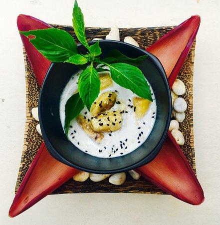 The Palm Cuisine: Banana in Coconut Milk
