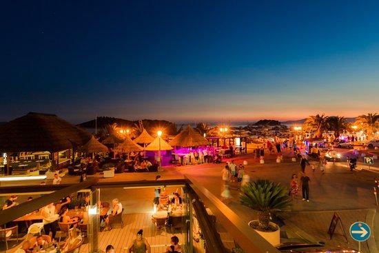 Pakostane, Chorwacja: our restaurant terrace and bar
