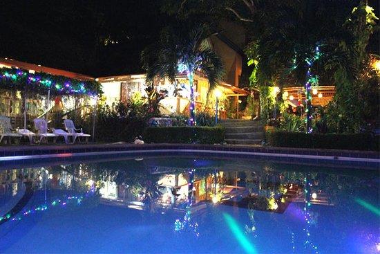 Artistic Diving & Beach Resort : Resort by Night
