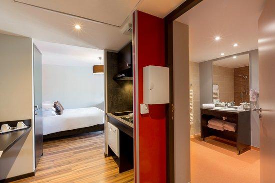 Best Western Park Hotel Geneve-Thoiry: Chambre studio