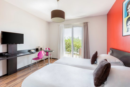 Best Western Park Hotel Geneve-Thoiry: Chambre studio, lits doubles