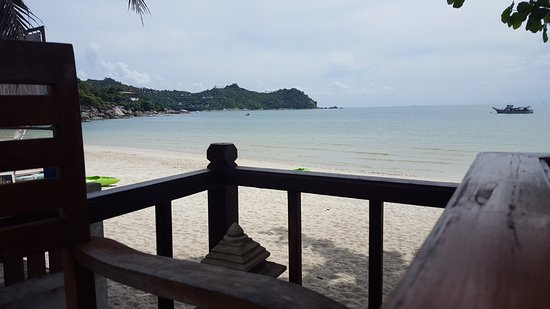 Pingchan Beach Resort: View from the breakfast area