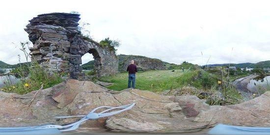 Lochcarron, UK: Strome Castle