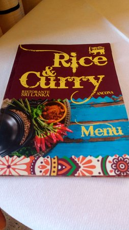 Rice and Curry: menu