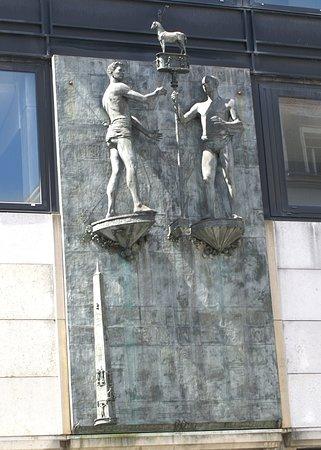 Statues des Quatre Fils Aymon