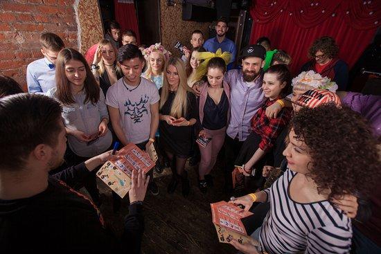 City Pub Crawl Saint-Petersburg: Начало игры