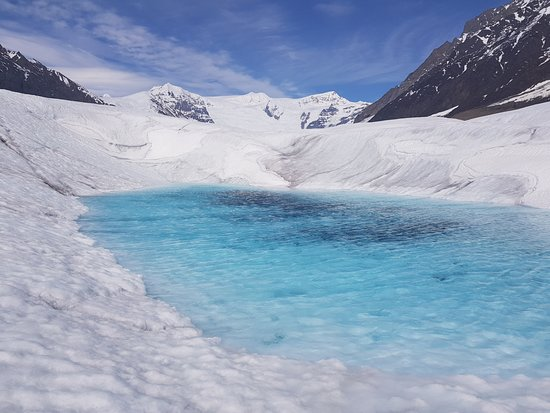 Kennicott, AK: Another smaller pool on Root Glacier