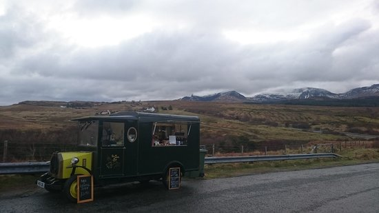 Staffin, UK: OUR MOBILE VAN