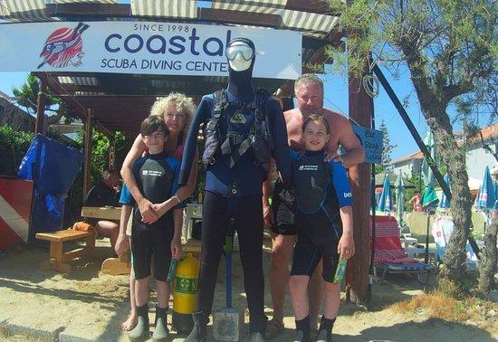 Tsilivi, Greece: kids discover scuba diving