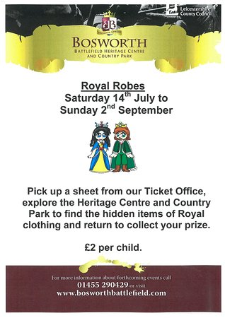 Sutton Cheney, UK: Royal Robes Poster