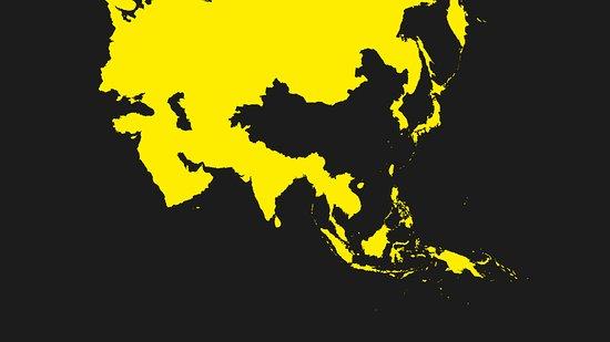 Kamado Asian Food León : Mapa de Asia