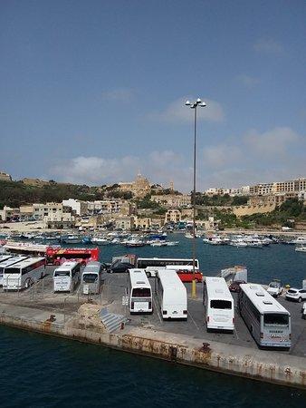 Cirkewwa, Malta: Gozo port