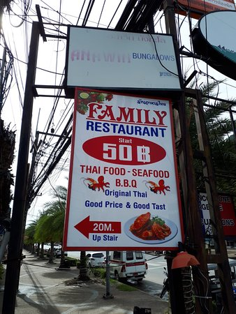Family Thaifood & Seafood: exterior