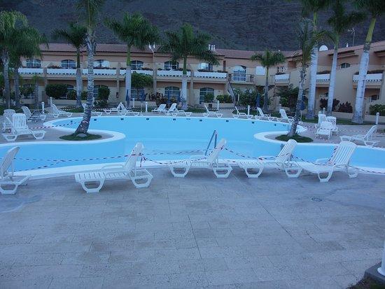 Jardin del Conde: Der Poolbereich war gesperrt