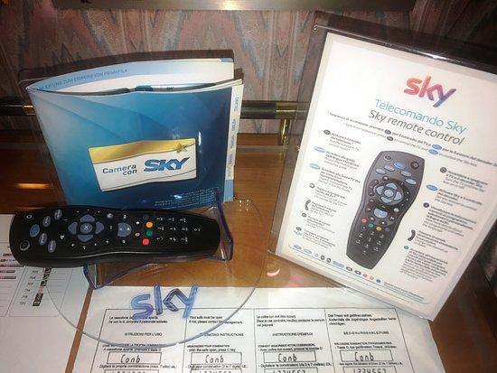 Hotel Cicolella Foggia: Servizio Sky