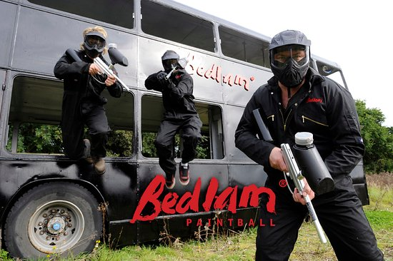 Cumbernauld, UK: Bedlam Paintball Glasgow