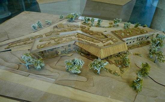 The Sill: National Landscape Discovery Centre : Architectural scale model of The Sill