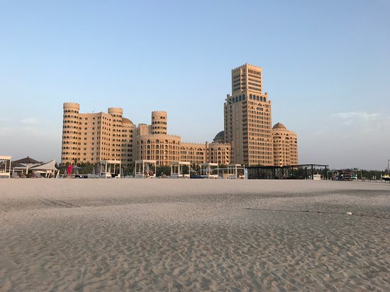 Al Hamra Residence & Village: view from the beach