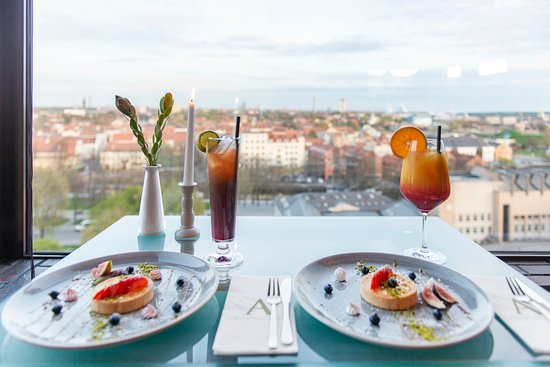 Amberton Hotel Klaipėda: Panoramic restaurant XII (12th floor)