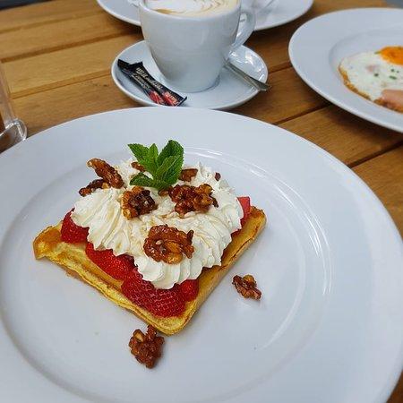 Joy Burger Steakhouse: Our Breakfast served between 09:00-11:30