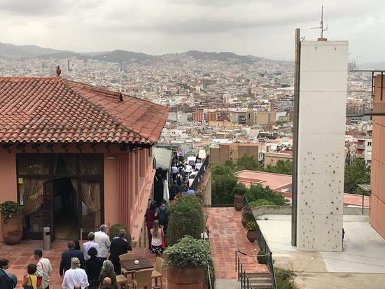 El Xalet de Montjuïc: Nicely placed