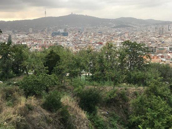 El Xalet de Montjuïc: Great view 1