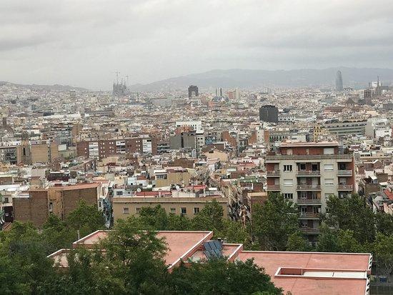 El Xalet de Montjuïc: Great view 2